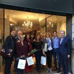 Una delegación de la Asociación CHM visita Barcelona por cortesía del Gremio de Muebles de Barcelona