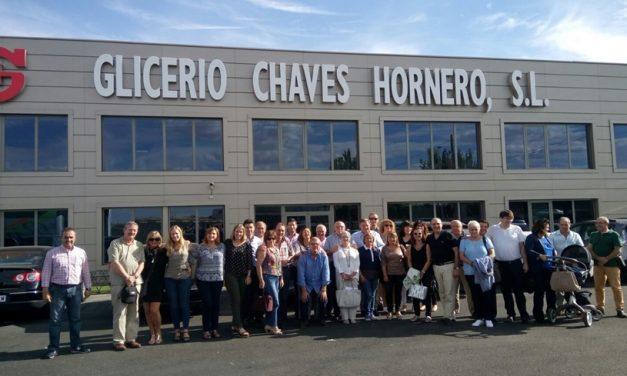 Visita a la fábrica de muebles de Glicerio Chaves